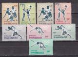 Rwanda 1964 sport olimpiada MI 77-84 MNH w62, Nestampilat