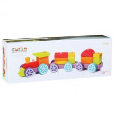 Jucarie din lemn Cubika Trenulet