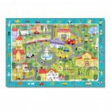 Puzzle Oras Dodo, 80 piese, 31 x 45 cm, carton, 5 ani+