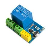 Placă de Bază cu Releu pentru Modulele ESP8266 ESP-01