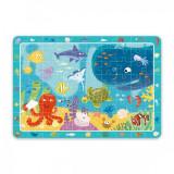 Puzzle Animale marine Dodo, 80 piese, 41 x 35 cm, carton, 5 ani+