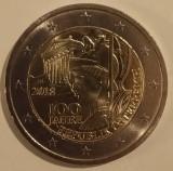 Republica Austria - 2 Euro 2018 - 100 Ani