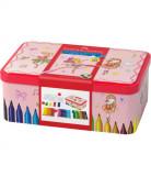 Carioci Connector Faber-Castell Ballerina Box, 33 Culori