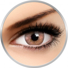Flash Hydroxy Sandy Brown - lentile de contact colorate caprui 90 de purtari (2 lentile/cutie)