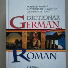 Dictionar german - roman A-Z editia intr-un singur volum (cel mai cuprinzator)