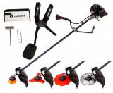 Motocoasa de umar YAMAMOTO SRM-520 PRO, 6.7 CP, 5000 W, 4 moduri de taiere, motocositoare pe benzina, ProCraft