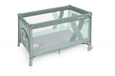 Baby Design Simple patut pliabil - 04 Green 2019 foto
