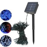 Lampa 100 LED-uri , Energie Solara, Aer Liber, interior, LED, rezistenta la apa, Colorata, lumina pe sfoara, decoratiuni vacanta