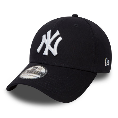 Sapca New Era 39thirty Basic New York Yankees Bleumarin - Cod 95897652 foto