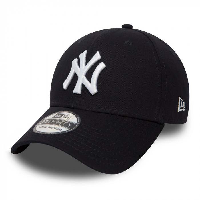 Sapca New Era 39thirty Basic New York Yankees Bleumarin - Cod 95897652
