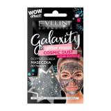 Masca de fata cu sclipici Eveline Cosmetics, Galaxity Cosmic Dust 10 ml