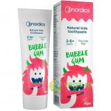 Pasta de Dinti Naturala Pentru Copii Bubble Gum 50ml