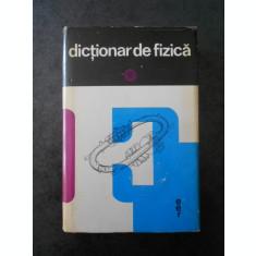 ION DIMA - DICTIONAR DE FIZICA (1972, Ed. cartonata)