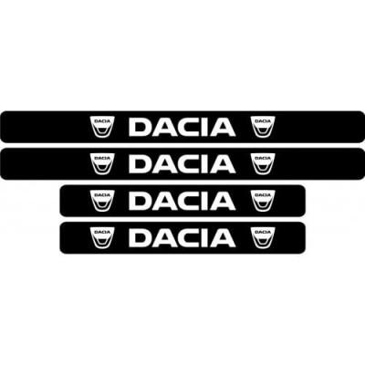 Set protectie praguri Dacia (v5) foto