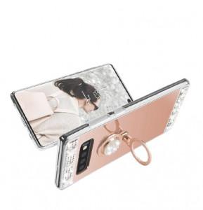 Husa silicon oglinda cu inel Samsung Galaxy S10 / S10 Plus /S10e