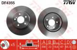 Disc frana MERCEDES C-CLASS Sportscoupe (CL203) (2001 - 2011) TRW DF4355