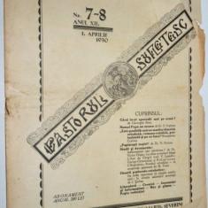 Revista teologica Pastorul sufletesc NR. 7- 8 , Lugoj 1930