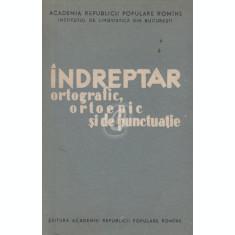 Indreptar ortografic, ortoepic si de punctuatie (1960)