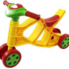 Minibike Doloni cu sunete si lumini galben cu rosu