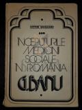SAHLEANU VICTOR (Dedicatie si Autograf!) - INCEPUTURIULE MEDICINII SOCIALE IN ROMANIA (Despre Doctor C. BANU)