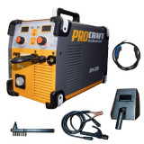 Invertor MMA + MIG Procraft SPI 320, Industrial, Electrozi si Gaz , 320 Amperi, + Cabluri si Pistol