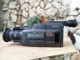 Camera video vintage SONY CCD-V800 Hi8 stereo Hi-Fi Defecta, Mini DV, 10-20x