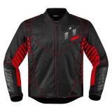 Geaca moto Icon Wireform culoare Negru/ Rous, marime S Cod Produs: MX_NEW 28203603PE