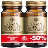 Vegan Digestive Enzymes Solgar 50cps 1+1-50% Cod: 29880