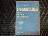 Farmaclogie Pentru Medici Veterinari - Constantin Statescu ,550251
