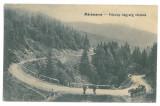 5132 - Prislop Pass, Maramures, Romania - old postcard - unused