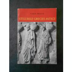 VASILE DRAGUT - STILURILE GRECIEI ANTICE (1961)