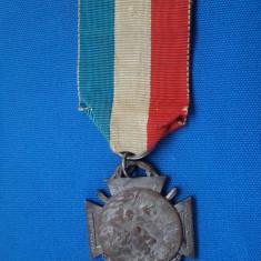 MEDALIE FRANTA- 1915- 25-26 DECEMBRIE ARMISTITIU DE CRACIUN (JOURNE DU BOILU)