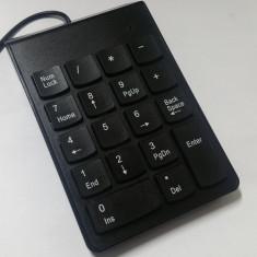 Tastatura numerica neagra