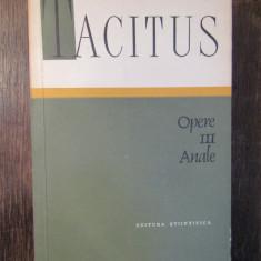 TACITUS - OPERE  VOL. III  ,ANALE
