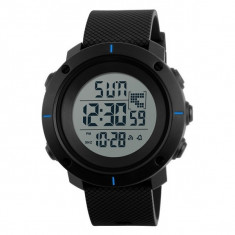 Ceas Barbatesc SKMEI CS1079, curea silicon, digital watch, functie cronometru, alarma