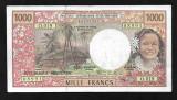 Tahiti-Republica Franceza 1000 francs