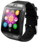 Cumpara ieftin Smartwatch cu telefon iUni Q18, Camera, BT, 1,5 inch, Negru