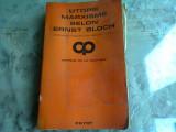 UTOPIE MARXISME SELON ERNST BLOCH (CARTE IN LIMBA FRANCEZA)