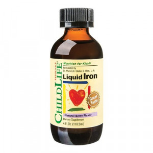 Liquid Iron 10mg (gust de fructe), 118.50ml , ChildLife