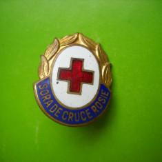 HOPCT ROMANIA INSIGNA CRUCEA ROSIE SORA DE CTUCE ROSIE [ 3 ]