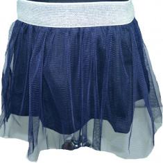 Fusta eleganta pentru fetite-Wendee OK17227-0B, Fucsia