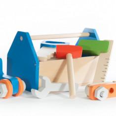Set de unelte din lemn, Marc toys