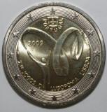 PORTUGALIA moneda 2 euro comemorativa 2009 - UNC