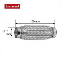 Racord flexibil toba esapament 51 x 150 mm BOSAL 265-317
