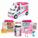 Set de joaca Clinica mobila a papusii Barbie
