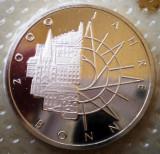 10.019 GERMANIA RFG BONN 2000 ANI ANIVERSARE 10 DEUTSCHE MARK 1989 D PROOF, Europa, Argint