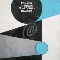 Comanda sistemelor de actionare electrica