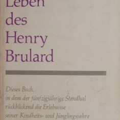 Leben des Henry Brulard – Stendhal