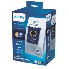 Set 16 saci microfibra S bag Classic Long Performance pentru aspirator Philips...