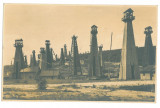 2623 - CAMPINA, Prahova, Oil Well, Romania - old postcard, real PHOTO - unused